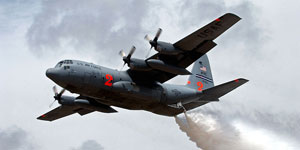 MAFFS-equipped C-130
